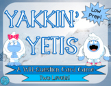 Yakkin' Yetis: A WH-Question Card Game