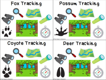 Animal Footprint Vocabulary