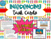 Inferencing Task Cards: Summer Edition - Distance Learning