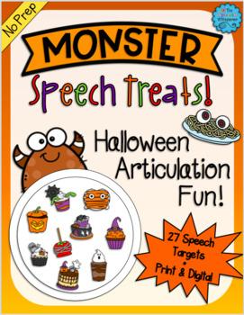 Monster Speech Treats: Halloween Articulation Fun