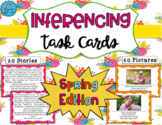 Inferencing Task Cards: Spring Edition (Distance Learning)