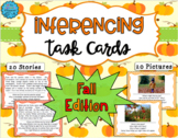 Inferencing Task Cards: Fall Edition - Distance Learning