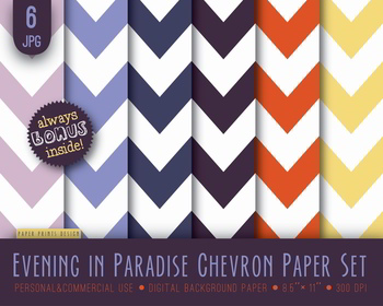 Background Chevron Paper Digital Scrapbooking Multicolored