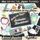 Frames 3 Ways: White, Transparent, and Black and White Big Clipart Set