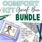 SALE Grief Box Comfort Kit BUNDLE Stretches, Coping Skills