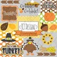 SALE: Holiday Clipart Bundle! Halloween, Thanksgiving & Christmas Clipart!