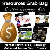 ELA Resources Grab Bag: Winter Texts, Writing Strategy, Ph