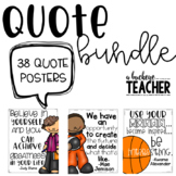 Inspirational Quote Poster Bundle