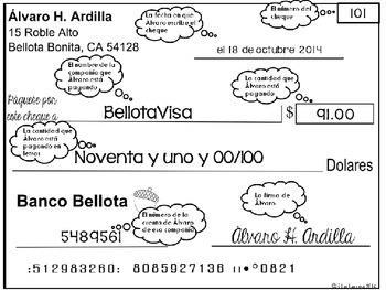 Álvaro paga facturas | Addition, Subtraction, & Place Value w/ 3 Levels