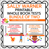 SALLY WARNER   PRINTABLE WHOLE BOOK TESTS   BUNDLE OF TWO