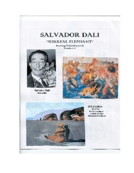 SALVADOR DALI ART LESSON
