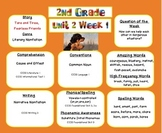 SAMPLE -2nd grade- Reading Street- Unit 2 Week 1 -Target Skills