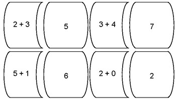 SAMPLE Addition (1 digit) Puzzles