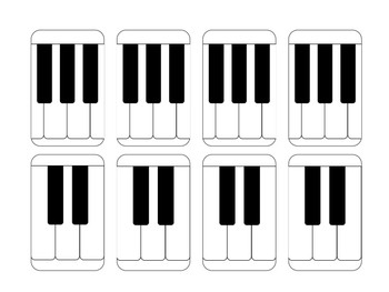Sample = Double-Sided Piano Music Milestones Cards