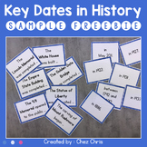 SAMPLE FREEBIE - Key dates in History : 7 American Monuments