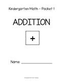 SAMPLE: Kindergarten Math (Addition)