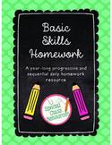SAMPLE Special Education Homework