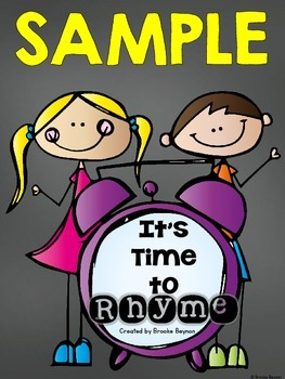 SAMPLE - Time to Rhyme BUNDLE