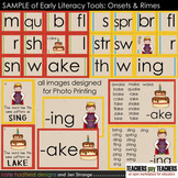 SAMPLE of Early Literacy Tools: RIMES - designed for photo