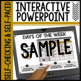 SAMPLE of Interactive Powerpoints