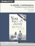 """Fiction Novel Workbook for Christian Teens to accompany""""You Will Surely Not Die"""""""