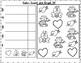 SAMPLER February Math Worksheets for Kindergarten FREEBIE