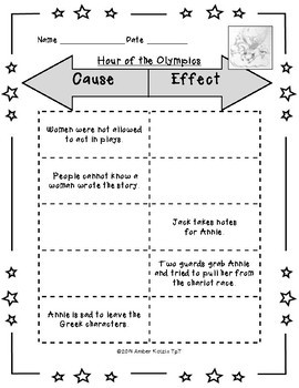 SAMPLER: Hour of the Olympics Literature Guide (Common Core Aligned)