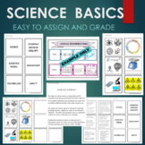 FREE Science Basics - Nature of Science Sort & Match Activity