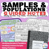 SAMPLES & POPULATIONS  Doodle Math - Interactive Notebooks
