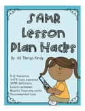SAMR Model Lesson Plan