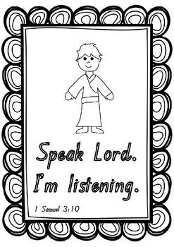 SAMUEL LISTENS TO GOD