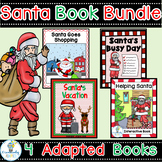 SANTA ADAPTED BOOK BUNDLE-4 DECEMBER HOLIDAY BOOKS