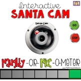 SANTA CAM Behavior Monitoring System - for use on your Smartboard or Projector!