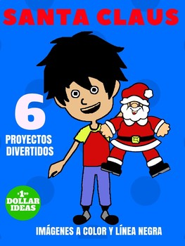 6 PROYECTO DE SANTA CLAUS | PROYECTOS PARA NAVIDAD