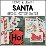 SANTA Move & Learn Gross Motor Games for Preschool, Pre-K,