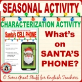 SANTA'S PHONE Effective and Engaging Characterization Acti