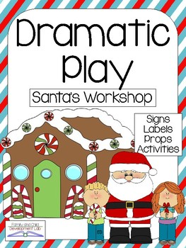 SANTA'S WORKSHOP/ NORTH POLE Christmas Dramatic Play Center
