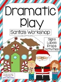 SANTA'S WORKSHOP/ NORTH POLE Christmas Dramatic Play Center