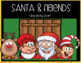 SANTA sing-along book PREPOSITION CARDS Speech Therapy Early Reader