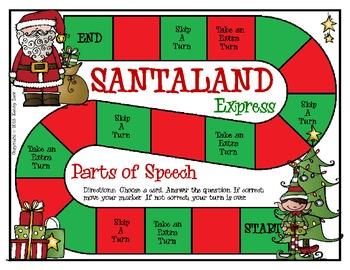 SANTALAND Express - Parts of Speech