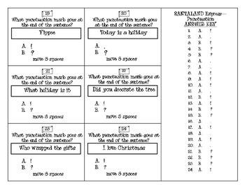 SANTALAND Express - Punctuation