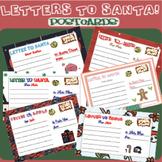 CHRISTMAS POSTCARD - SANTAS LETTER