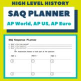 SAQ Response Planner (AP World, AP US, AP European)