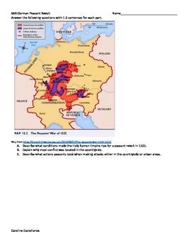 SAR German Peasant Revolt for AP Euro