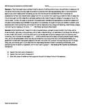 SAR question for Renaissance 2 for AP Euro