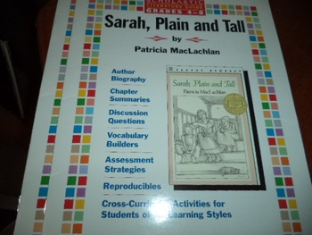 SARAH PLAIN AND TALL    ISBN 0-590-06572-6              2