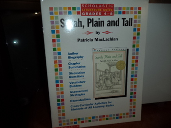 SARAH, Plain and Tall  ISBN  0-590-06572-6