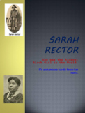 SARAH RECTOR : Was the Richest Black Girl in the World