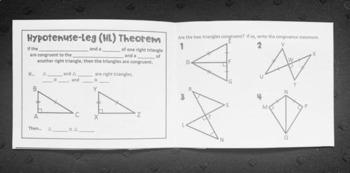 SAS and HL (Geometry Foldable)