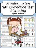 SAT 10 Achievement Test Practice ~ Listening